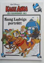 Kalle Anka och tidsmaskinen 03 Kung Ludvigs porträtt