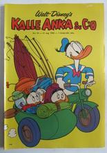 Kalle Anka 1962 34 Vg+