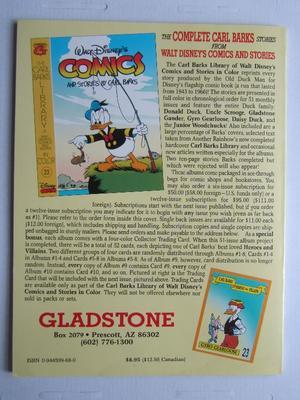 Carl Barks Library Walt Disney's Comics and  Stories 22
