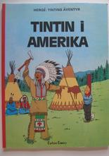 Tintin 19 Tintin i Amerika Sen uppl.