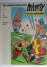 Asterix 01 Asterix och hans tappra galler 2:a upplagan Vg