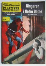 Illustrerade Klassiker 119 Ringaren i Notre Dame 1:a uppl Vg+