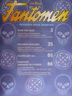 Fantomen julalbum 2003
