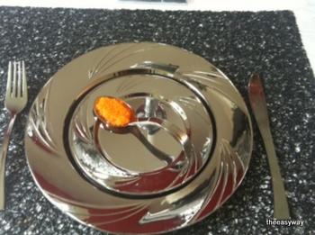 Mini silver spoon. 10 pieces.