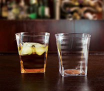 Tumblers Whiskey. 14 pieces.