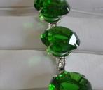 Servettringar. Emerald grön. 4 st.