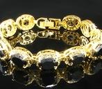 Bracelet Black Romance Gold Plated