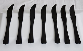 Black  - Knifes. 20 pieces.