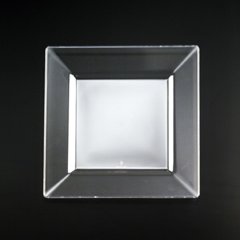 Square Side plate. 10 pieces.