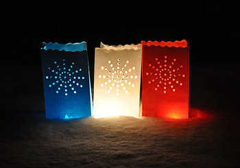 Candle Bag  Stardust - Blå