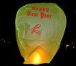 Happy New Year - Grön. 6 st