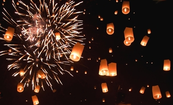Happy New Year - Gul. 6 st