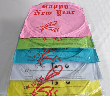 Happy New Year - White. 6 pieces
