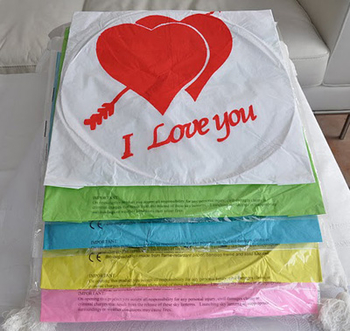 I Love You - Blå