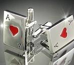 Cufflinks Royal  Heart Ace