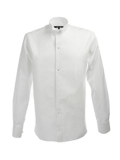 Frackskjorta i passform Slim