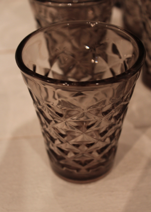 Fasettglas - sand