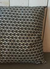 Kudde Svart mönster