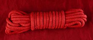 Red Cotton Bondage Rope