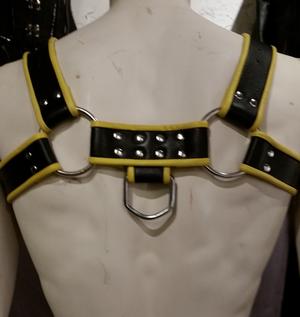 Läderharness Bondage Bröst