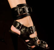 Leather Locking Ankle Restraints