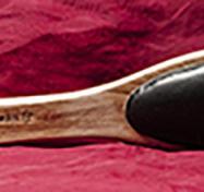 Teak paddle with padding  (S-L)