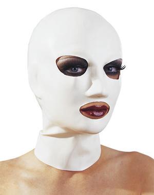 White Latex Hood