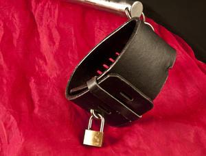 Halsband med Armspridare, Låsbar