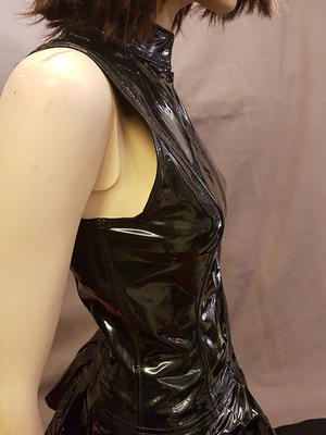 Sleeveless PVC Top