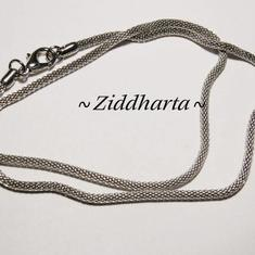Halsband: TP Snake /Ormlänk 2,4mm diam. 42cm