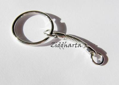 TP Nyckelring med ormkedja - diam. 25mm