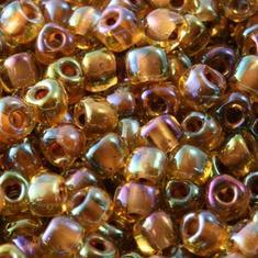 10gram Smoked TOPAZ Iris #1162 Miyuki 3mm Triangles 8/0