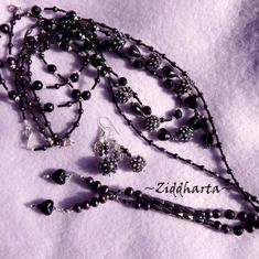 SÅLD! L3:87 LARIAT Black Witch Gothic - Goth  / Metal / Hårdrock / Punk /Halloween: Jewelry hand made by Ziddharta