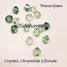 Swarovski Crystals 15st - ForeverGreen