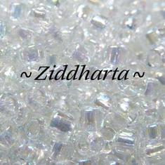 10 gram Japanska MATSUNO Seedbeads 6/0 - Crystal IRIS