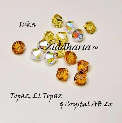 Swarovski Crystals 15st - INKA