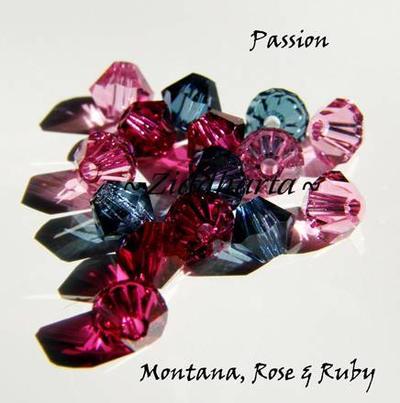 Swarovski Crystals 15st - PASSION