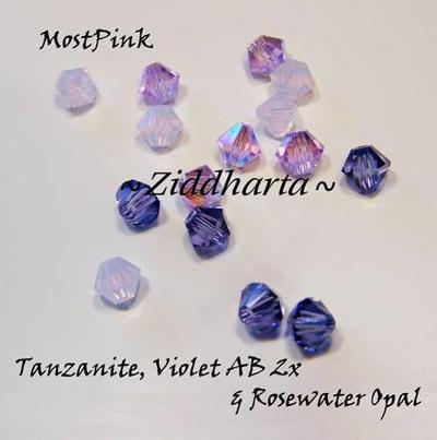 Swarovski Crystals 15st - MostPink
