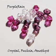 Swarovski Crystals 15st - PurpleRain