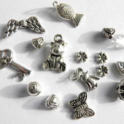 """AS 19st Hängen SET Mellandelar Charms Pendants Berlocker: """"Angels n´Heaven"""""""