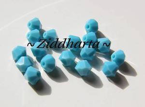 REA! Swarovski Bicone 4mm Crystals - Turquoise - TURKOSA 8st