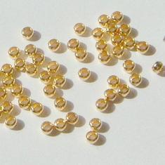 1,5mm GP Klämpärlor - 50st