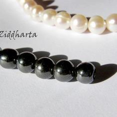 4st Hematit-pärla - 6mm RUND
