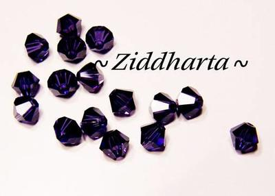 Swarovski 4mm Bicone - Purple Velvet - 8st