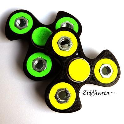 Coolaste Spinnern! Bästaste leksaken & presenten! Spinner - Neon Gul