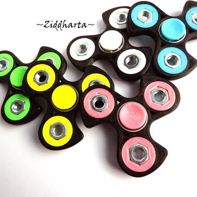 Coolaste Spinnern! Bästaste leksaken & presenten! Spinner - Vit / White