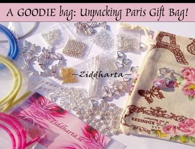 #DIY Videos: Storpack 600 delar Packar upp Paris Smyckes påsen - Unpacking Paris gift bag: Smyckestillverknings delar & pyssel plus gåvor