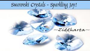 #Videos #SwarovskiCrystal Sparkling Joy! Beautiful Beads for Jewelry Making - English Audio
