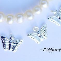 3 SP Fjärilar - fina små och detaljerade