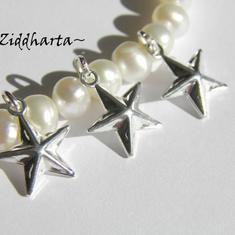 1 SP 10x10mm Dubbelsidigt hänge: STAR